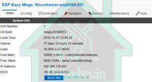 Eerste Hulp Bij ESP Easy Flash. nl