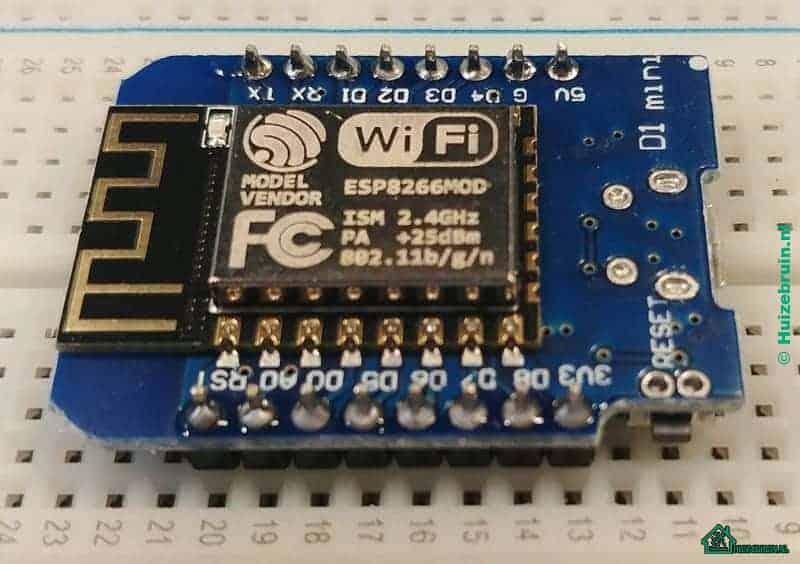 Je bekijkt nu Gereedmaken van de hardware esp8266 / wemos d1 mini (deel 1)