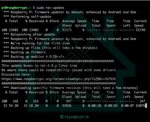 Ssh (secure Shell kortweg: SSH) aanzetten raspberry pi
