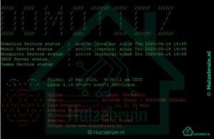 MOTD welkomstbericht toevoegen aan Raspbian / Domoticz
