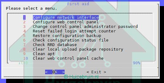 Je bekijkt nu Reset beheerders wachtwoord in OpenMediaVault