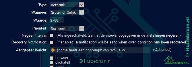 Domoticz notificaties zonpaneel1