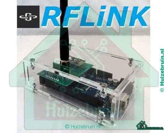 Rflink flashen en koppelen aan domoticz (nl)
