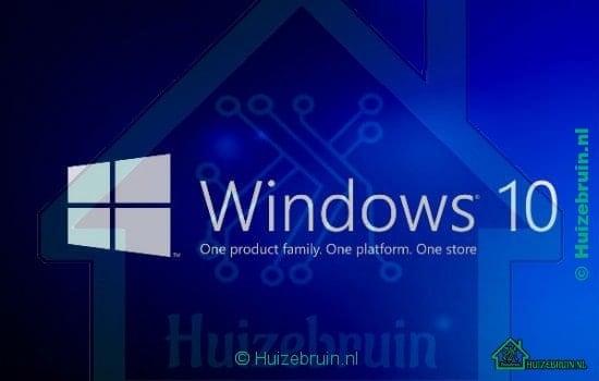 Gratis upgrade naar Windows 10