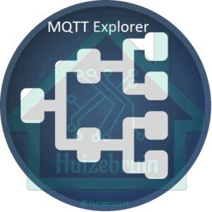 Zigbee verkeer bekijken met mqtt explorer