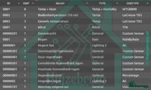 Virtual weerstation voor domoticz V2020.1 & v2020.2- Buienradar nl