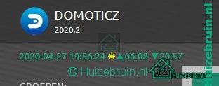 Je bekijkt nu Domoticz version 2020.2 released (Stable Hotfix) 26-04-2020