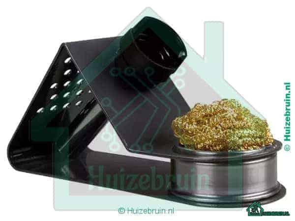 Universal soldering iron stand