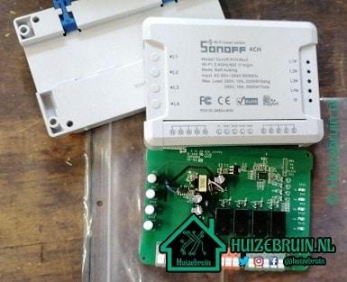 Je bekijkt nu Itead Sonoff 4CH R2 Wifi Smart Switch
