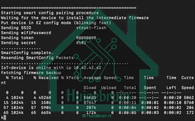 tuya Firmware backup
