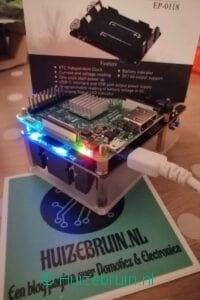 UPS (met RTC en coulometer) voor de Raspberry PI(SKU:_EP-0118)