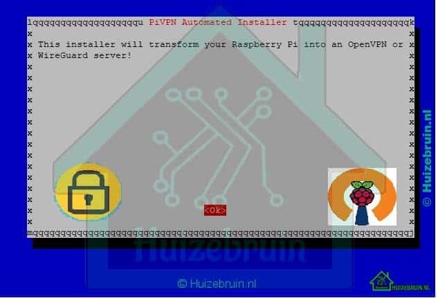 PIVPN installeren op een Raspberry Pi